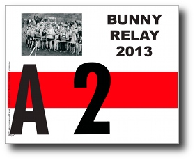 Race number, Bunny Relays